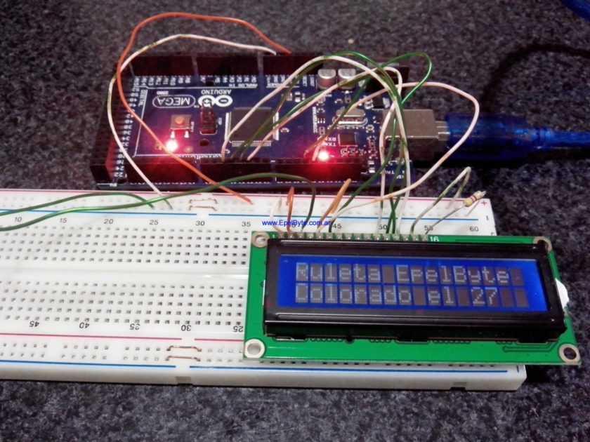 Ejemplo Ruleta Electronica v3.0