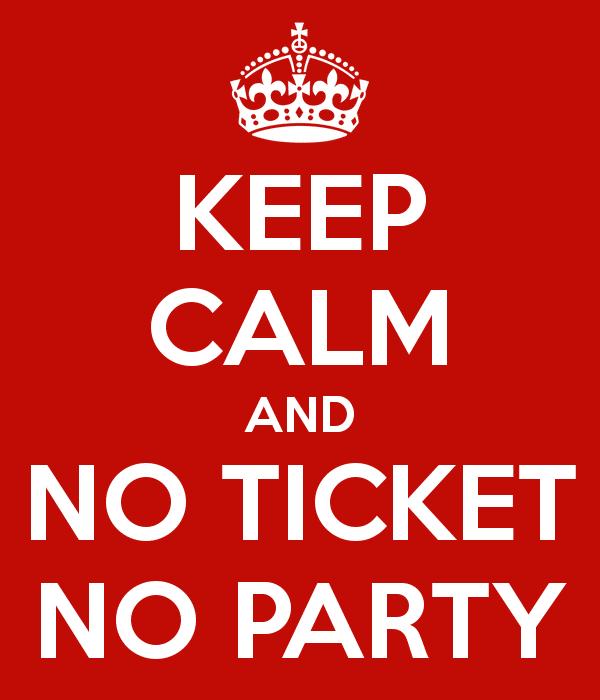 Y recuerda… No Ticket, not support